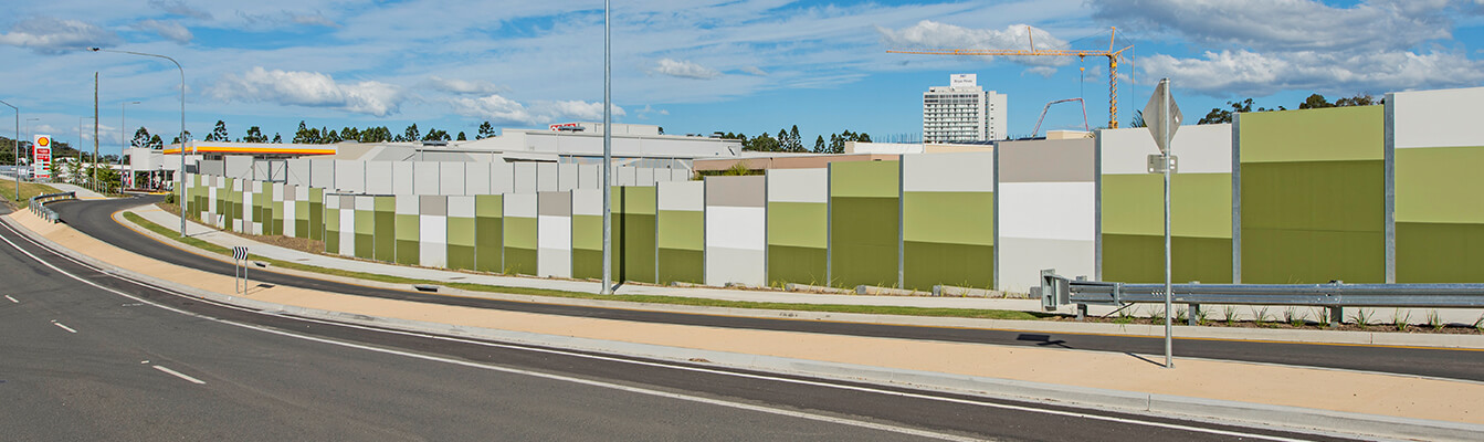 Brisbane Commercial Noise Walls and Fences | ModularWalls