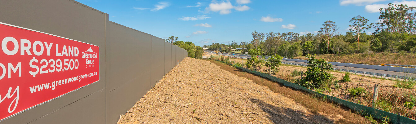 Gold Coast Commercial Noise Walls and Fences | ModularWalls
