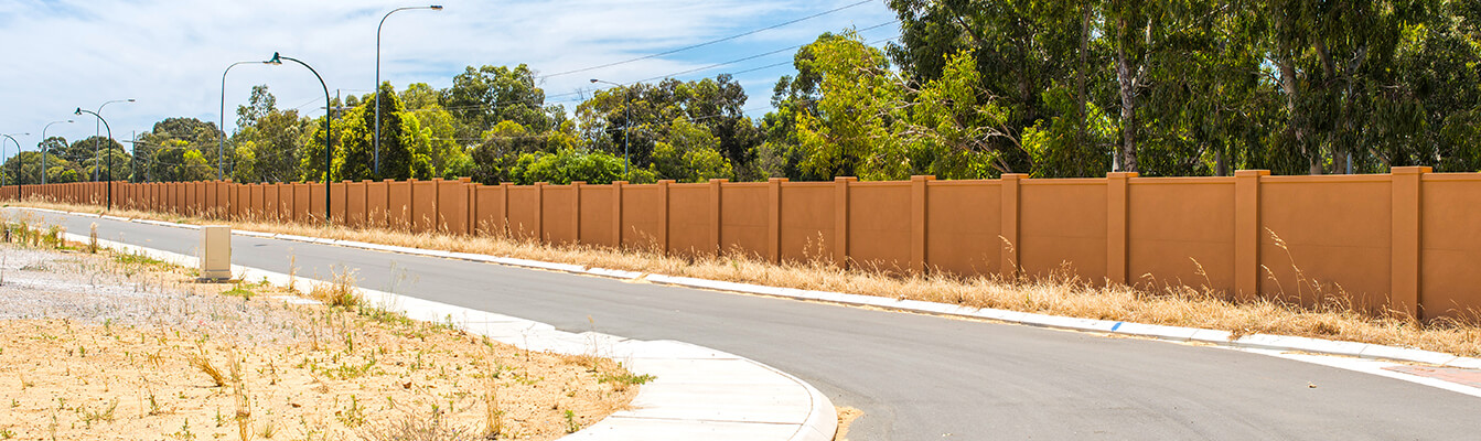 Perth Commercial Noise Walls and Fences | ModularWalls