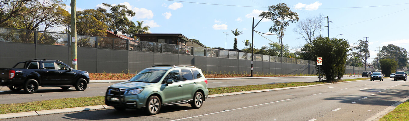 Sydney Commercial Noise Walls and Fences | ModularWalls