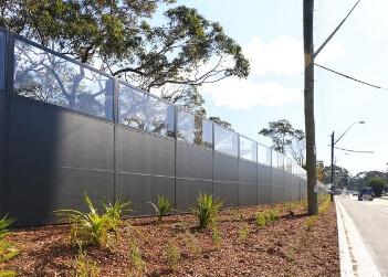 Commercial Noise Walls & Acoustic Fences | ModularWalls
