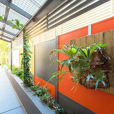 Residential Outdoor Feature Wall Systems Modularwalls