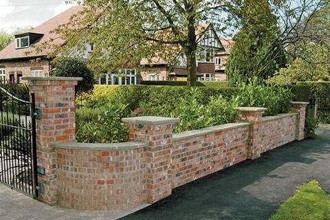Brick fencing | ModularWalls