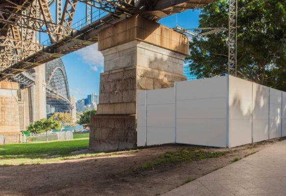Zero-Impact Temporary Enclosure for Harbour Bridge Work | ModularWalls