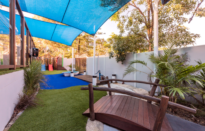 Childcare Acoustic Fence - SlimWall | ModularWalls