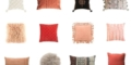 Throw Pillows - Living Coral - Design Trend of the Month | ModularWalls
