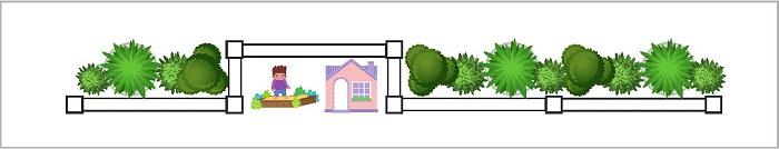 Play Area - Setback Bays - Fence Design Trends | ModularWalls