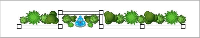 Water Feature - Setback Bays - Fence Design Trends | ModularWalls