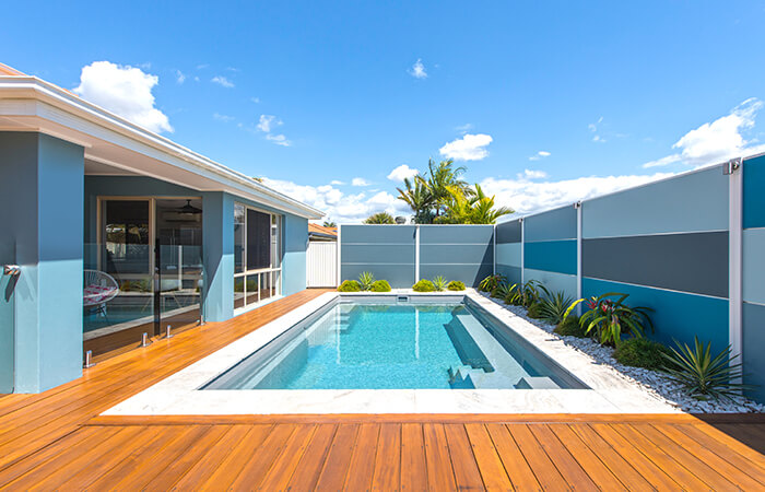 DIY SlimWall inspires entire backyard design | ModularWalls