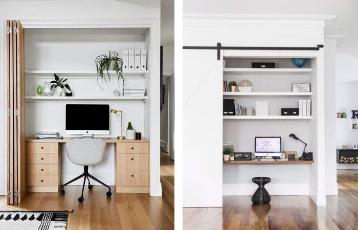 Interior Design Trends 2021 - Hidden Home Office