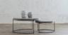 Living By Design - Aria Concrete Granite Coffee Tables