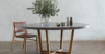 Modern Outdoor Furniture - Aria Concrete Granite Top Dining Table