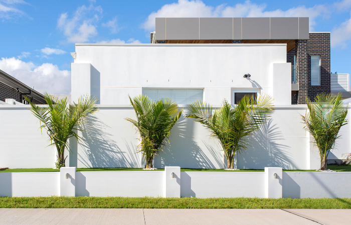 Contemporary Front Wall - EstateWall