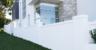 ModularWalls EstateWall with external post tops