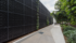 Acoustic panel - sound absorbing wall with vertical garden attached