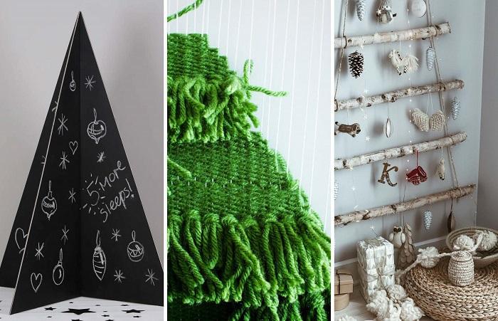DIY Ideas – 20 Eco Friendly, Alternative Christmas Tree Ideas   ModularWalls