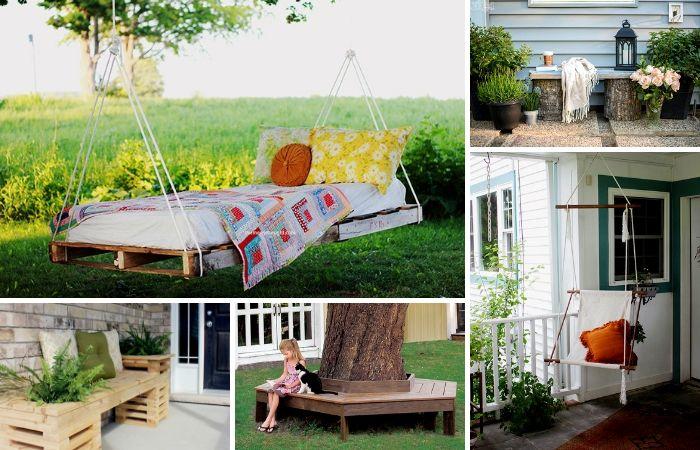 DIY Ideas – How To Build DIY Outdoor Seating | ModularWalls