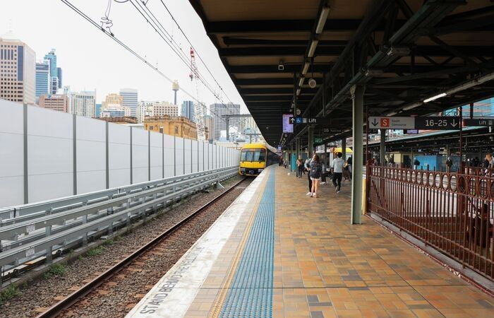 EnduroMax Noise Barrier For Trackwork at Central Station | ModularWalls