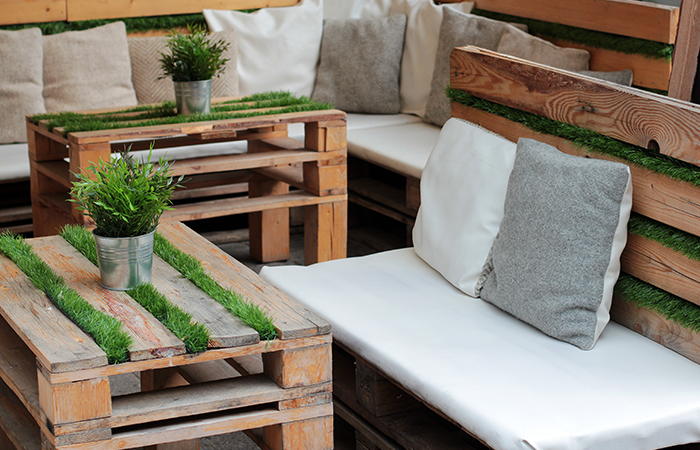 DIY Ideas – How to build DIY outdoor seating | ModularWalls