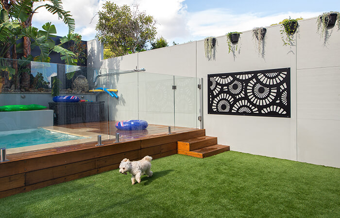 Privacy Screen for Duplex | ModularWalls
