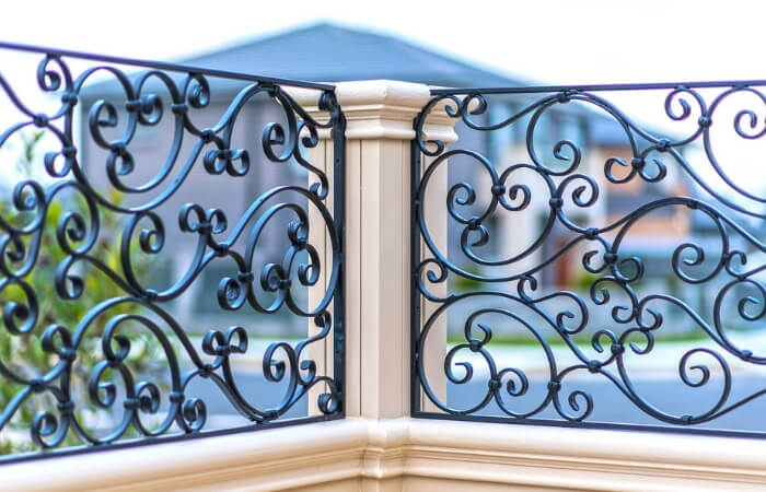 The 10 Different Types of Fencing - Wrought Iron | ModularWalls