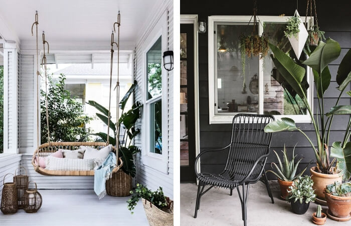 Front Porch Ideas - Foliage | ModularWalls