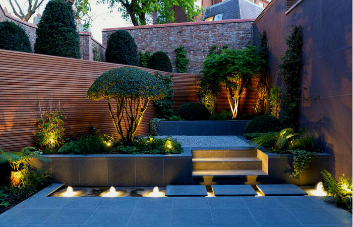 Backyard Lighting Ideas - Landscaping Garden Lights | ModularWalls
