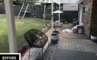 DIY Retainer Wall - Before & After - Little Dwellings Backyard Renovation | ModularWalls