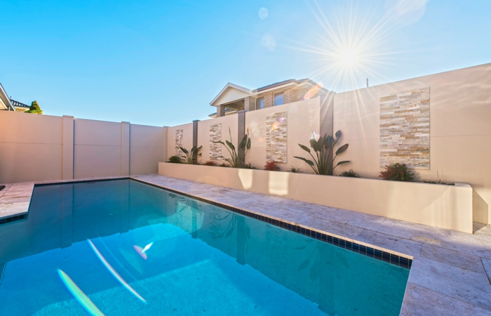 Residential Pool Boundary Walls | ModularWalls