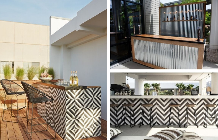 Diy Ideas How To Build An Outdoor Bar Modularwalls
