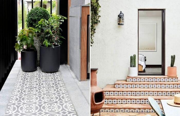 Outdoor Feature Tile Ideas - Design Trend of the Month | ModularWalls