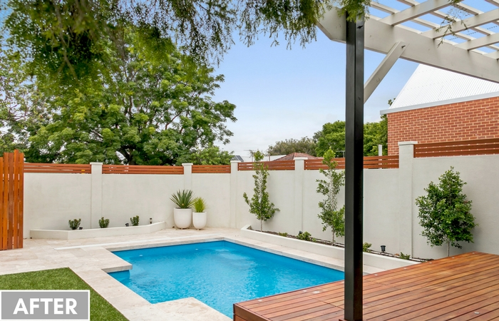 Voguewall For Backyard Makeover In Perth Modularwalls