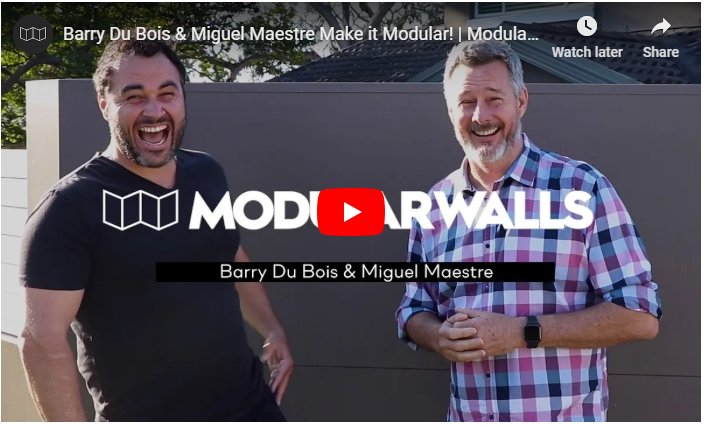 Barry Du Bois Chooses EstateWall for DIY Privacy Wall | ModularWalls