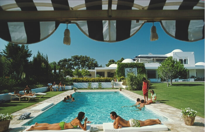Pool Area Inspo - Slim Aarons Photography | ModularWalls