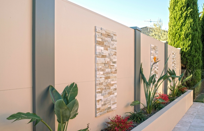 Backyard Feature Wall Ideas outdoor feature wall ideas for your backyard | modularwalls