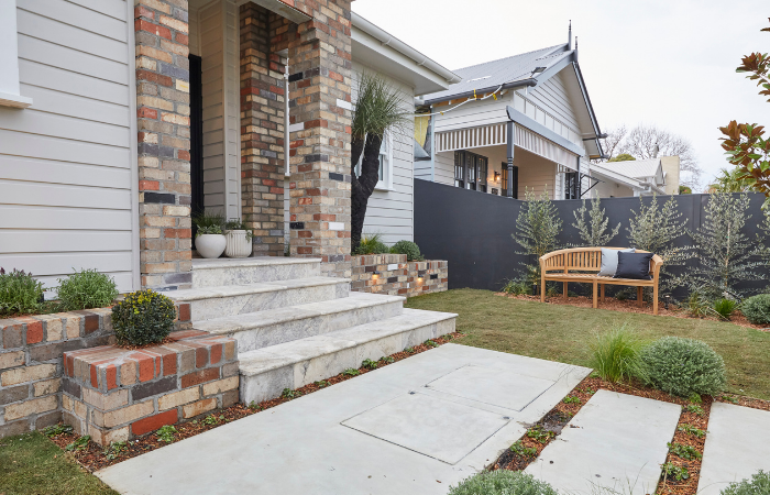 Reviewing The Block 2020 Front Yard Reveals - Sarah and George | ModularWalls