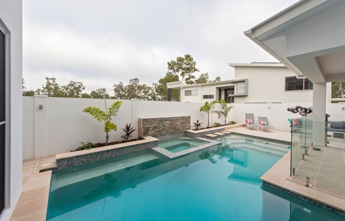 Backyard Pool Area Fencing | ModularWalls