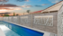 Pool Wall with Lighting and Decorative Panels - VogueWall | ModularWalls