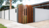 Front Wall with Timber Feature - VogueWall | ModularWalls