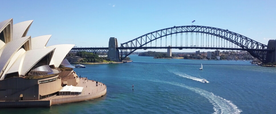 Sound absorption panels in Opera House & Harbour Bridge | ModularWalls
