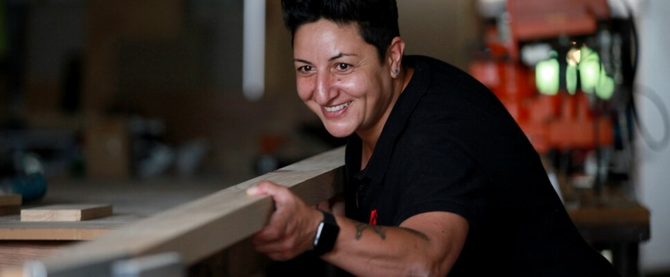Celebrating Women in Construction; Female Tradie | ModularWalls