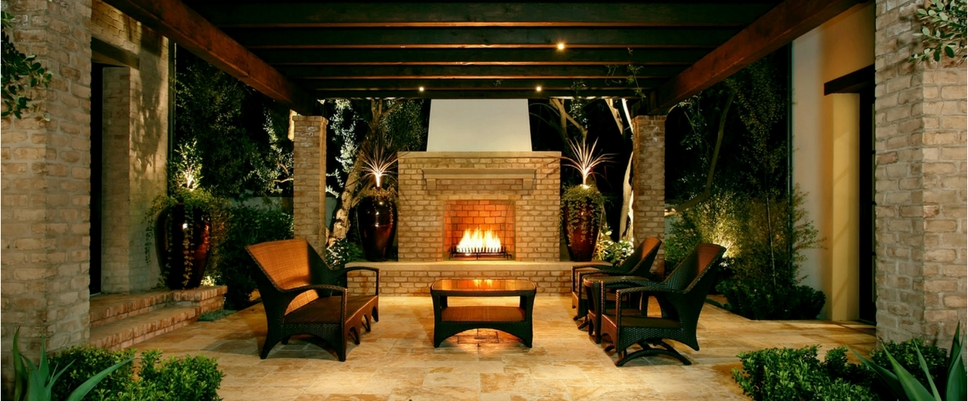 Winter proofing your outdoor entertaining courtyard area for Courtyard entertaining ideas
