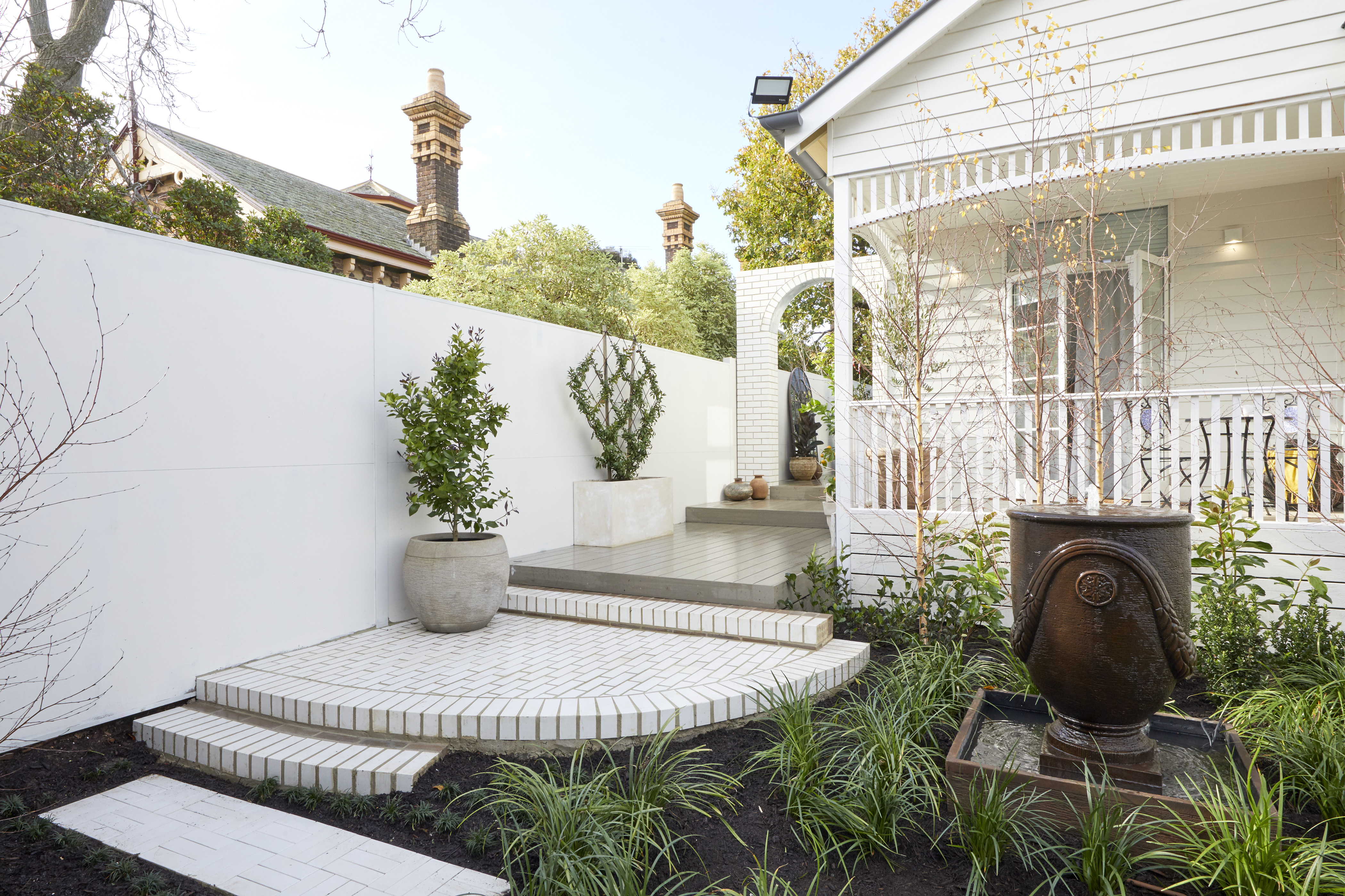 Cottagecore Design Trend - The Block Front Garden - Harry and Tash