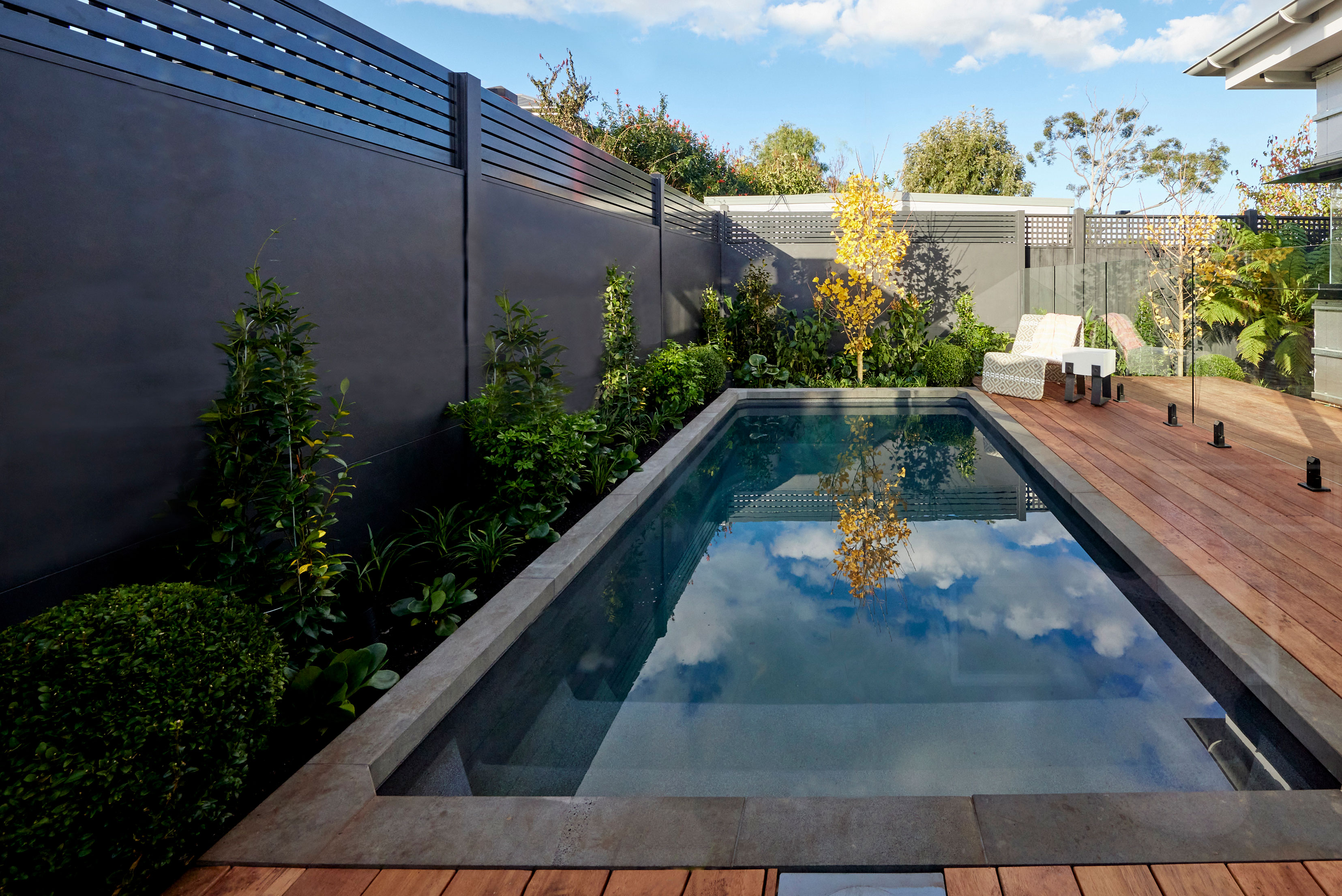 Pool wall as seen on The Block 2021
