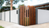 VogueWall with timber sleeper feature