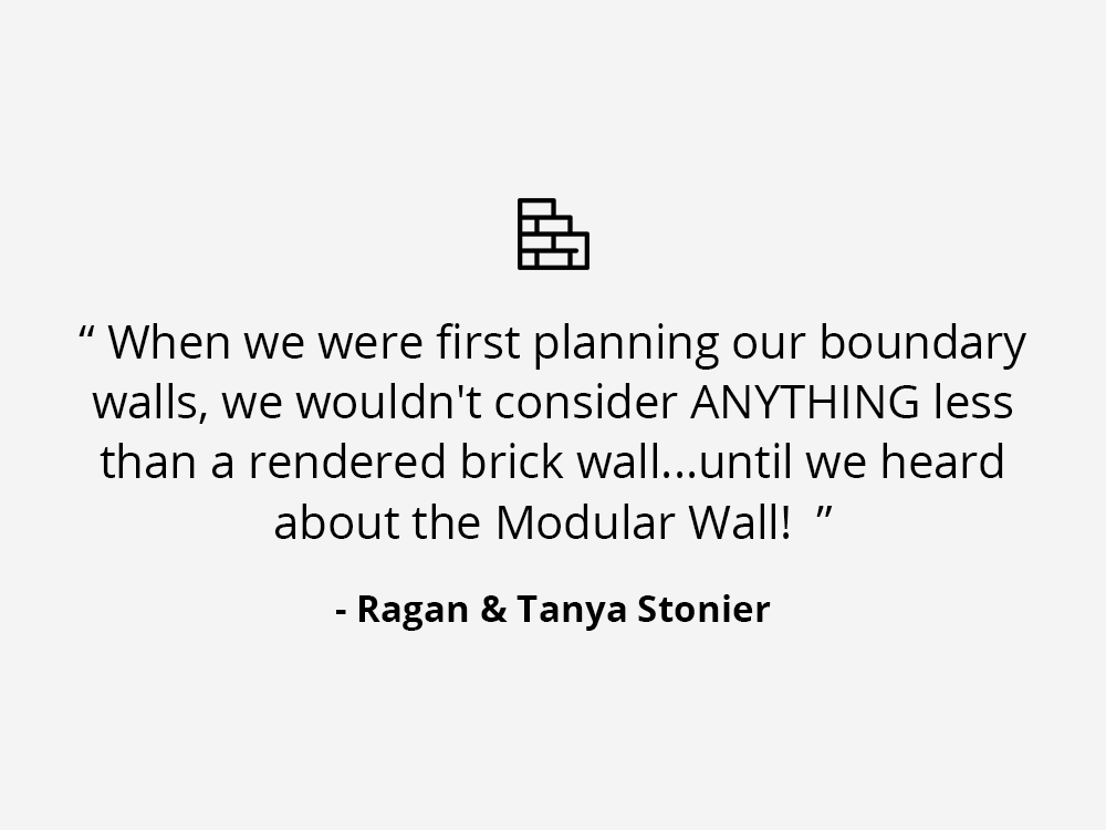 ModularWalls Testimonials - Brick Alternative