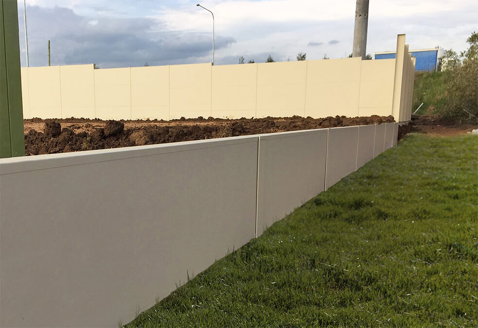 Retaining wall, Cobbitty, NSW