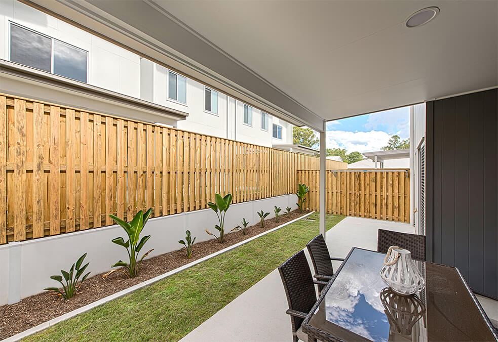 Retaining Project in Redbank, QLD