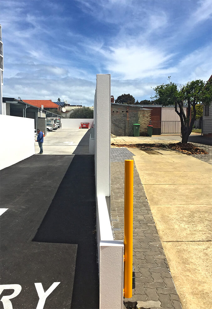Retaining project, Wembley, WA