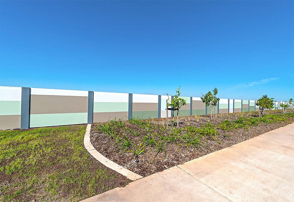 Boundary wall for Darwin based housing development